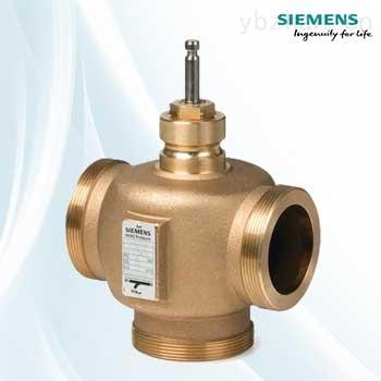 西门子温度控制三通阀VXG41.20