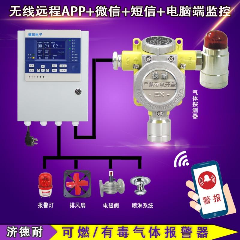 化工厂仓库乙醇气体泄漏报警器,气体泄漏报警装置