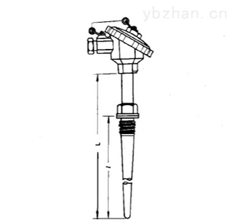 固定螺纹式热电偶