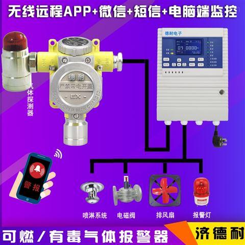 炼钢厂车间油气气体浓度报警器,智能监测