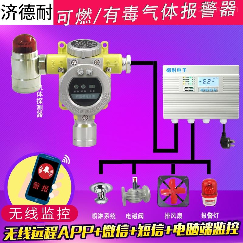 煉鋼廠車間石腦油氣體探測報警器,無線監測