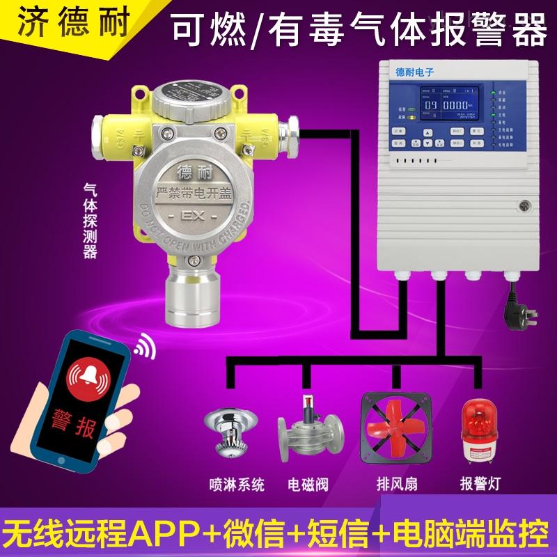 炼铁厂车间丁二烯气体报警器,APP监控