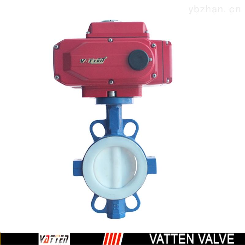 VT-电动全衬氟蝶阀,电动耐酸碱蝶阀