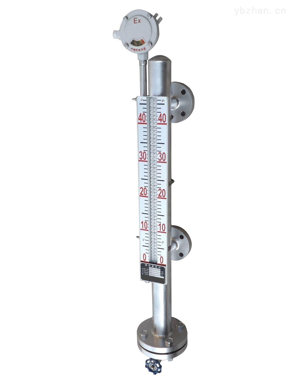 高温侧装磁翻板液位计