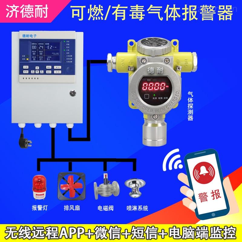 工业罐区二氧化碳泄漏报警器,点型可燃气体探测器