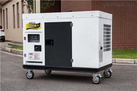 市政维修用25kw静音柴油发电机组