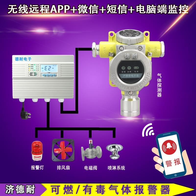 壁挂式乙醇泄漏报警器,防爆型可燃气体探测器
