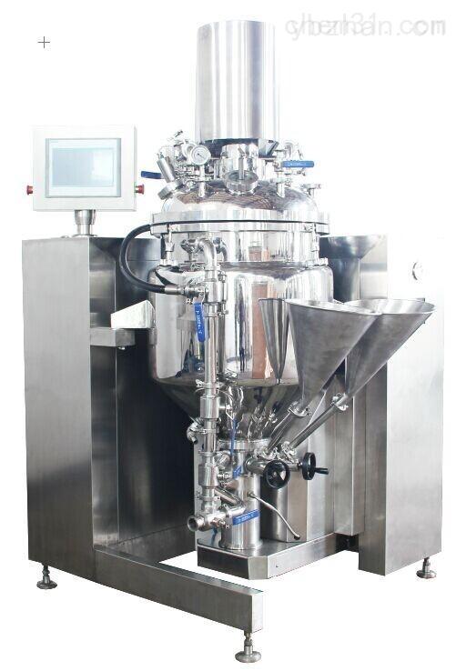 GRS2000-改性淀粉油水乳化自動化成套真空乳化機