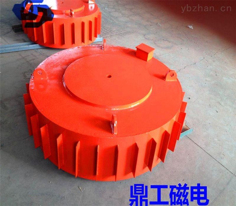 圆盘式电磁除铁器鼎工专业定制环保选铁设备