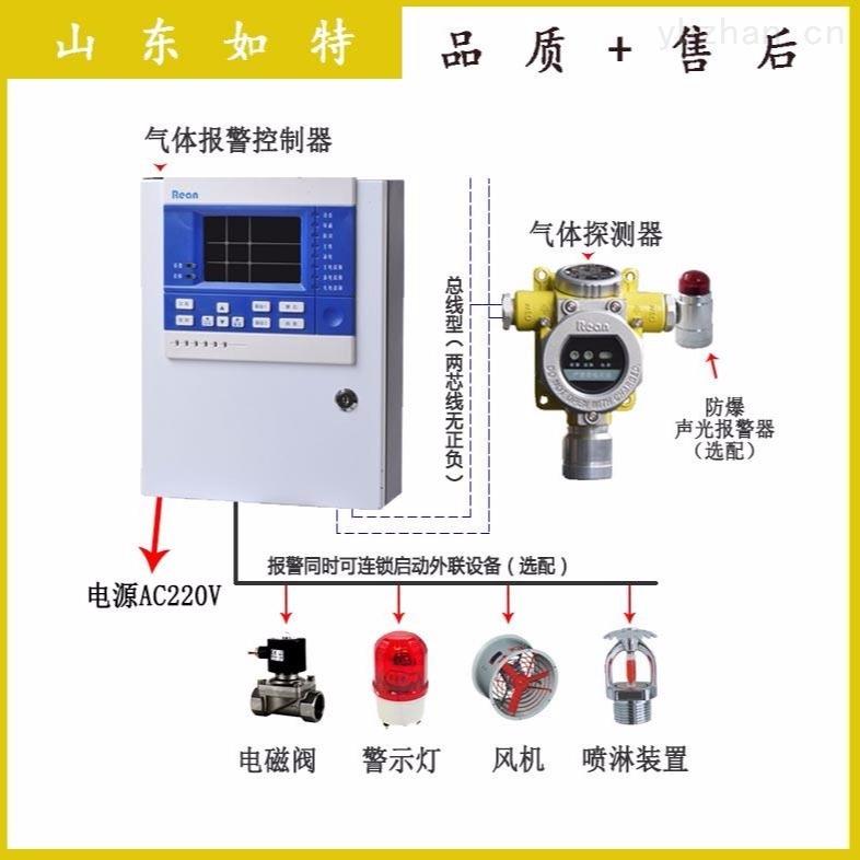二氧化碳泄漏检测报警器 CO2气体浓度探测器