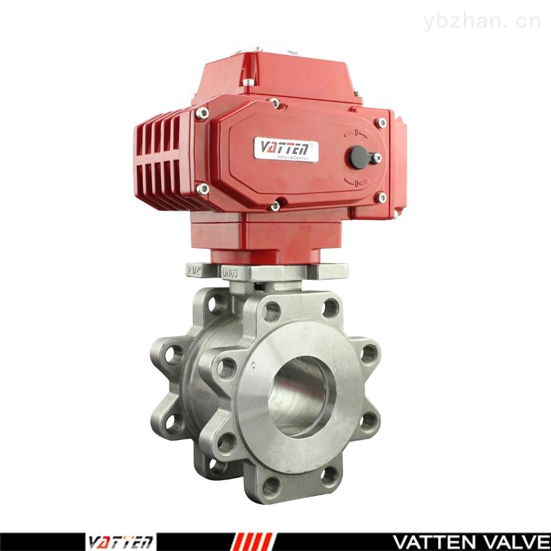 VT-電動對夾球閥,電動油漆專用球閥