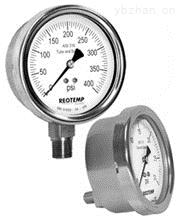 美国REOTEMP工业全焊接不锈钢压力表