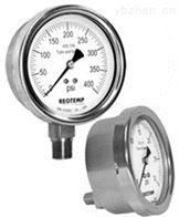 PR系列美国REOTEMP工业全焊接不锈钢压力表