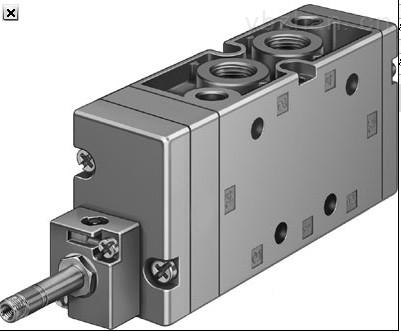 德费斯托电磁阀MEBH-5/2-D-1-ZSR-C