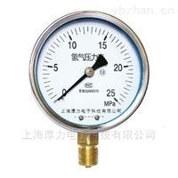YN-100系列氢气压力表
