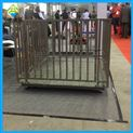 活畜计量称重2吨电子地磅/带围栏称猪电子秤