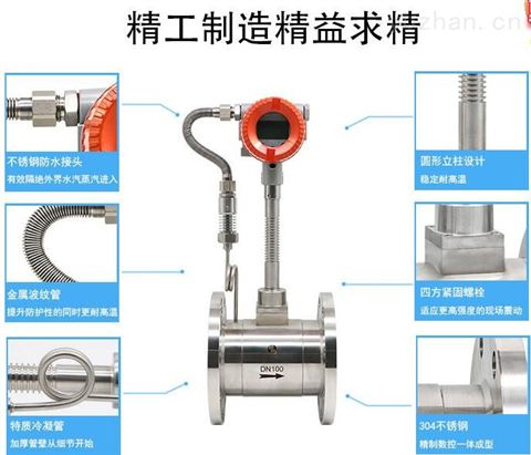 订做温压补偿型蒸汽专用流量计