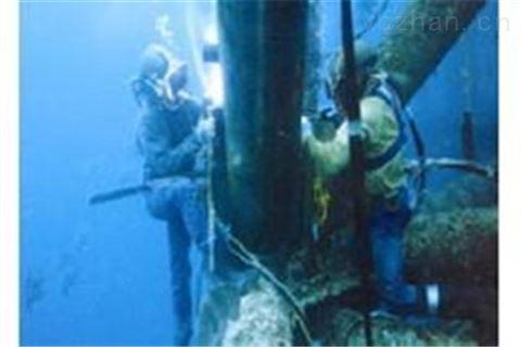 水下管道和取水头安装(珠海市潜水员水下搏斗)