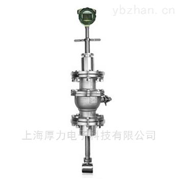 LUCB系列-球閥插入式渦街流量計