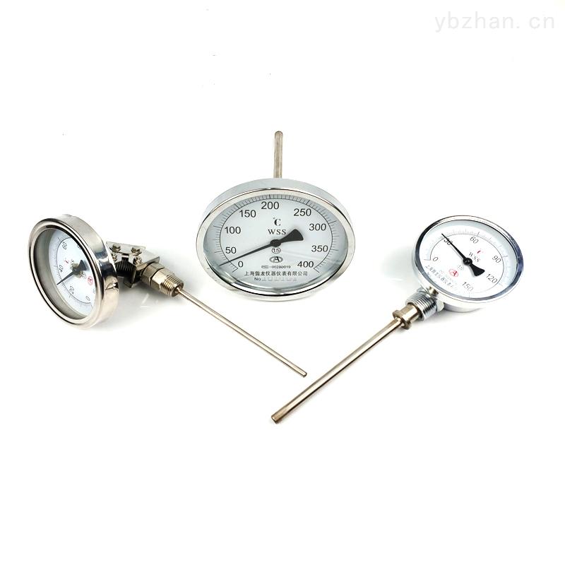 WSS-303轴向型双金属温度表烤鸭炉箱子专用温度计
