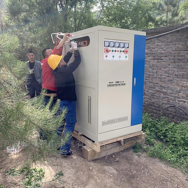 SBW-供應邯鄲三相電機專用全自動補償式穩壓器