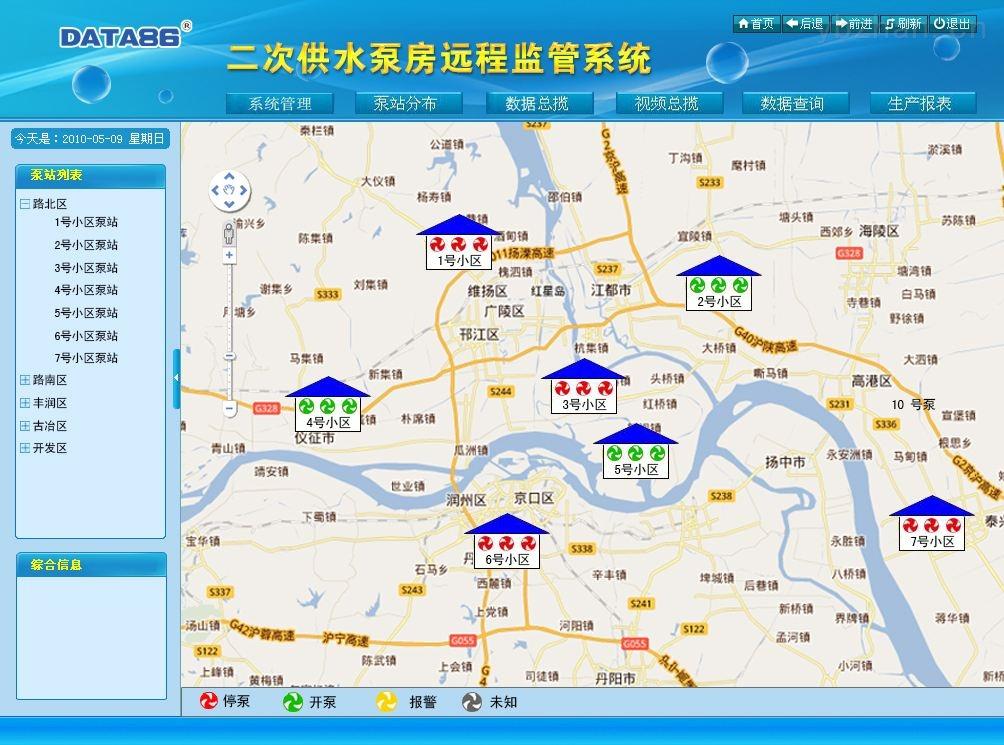 无负压供水设备远程监控系统