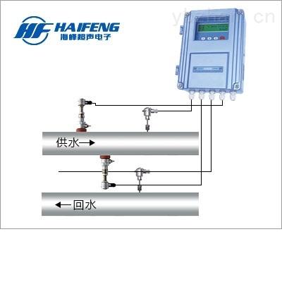 河北插入式超声波流量计 水资源计量设备
