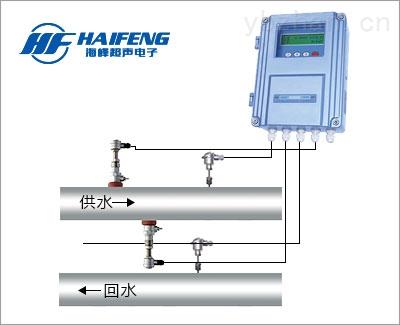 海峰插入式超聲波熱量表TDS-100