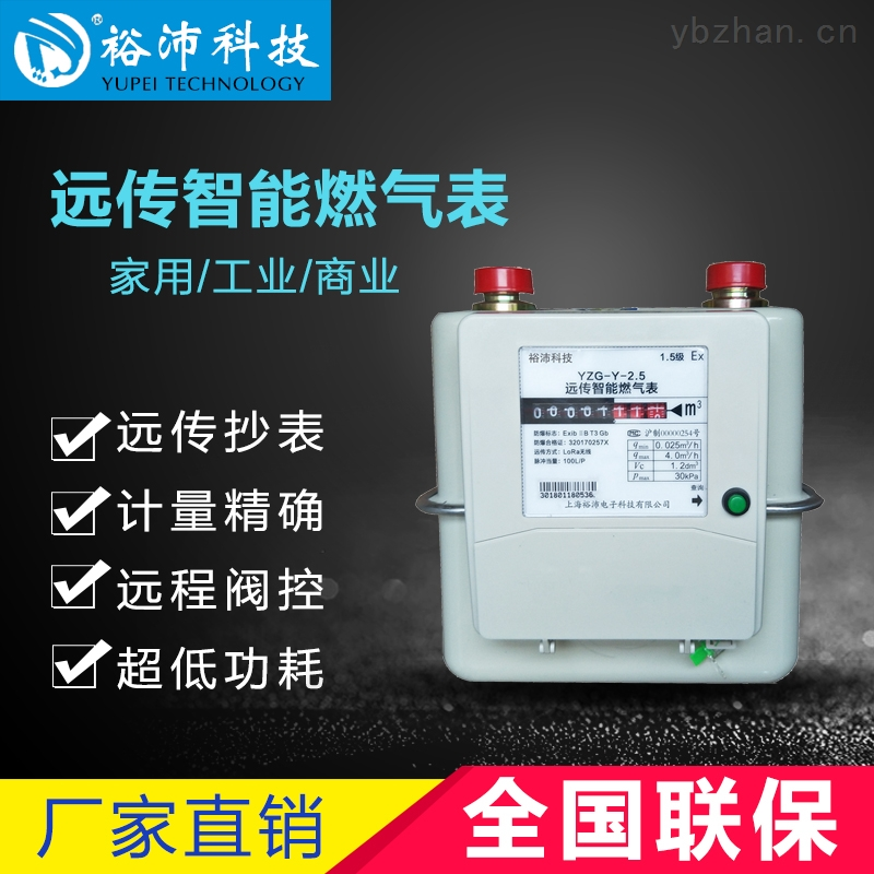 YZG-L-2.5-LORA遠傳智能無線天然氣表家用煤氣表