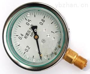 耐震壓力表工作原理