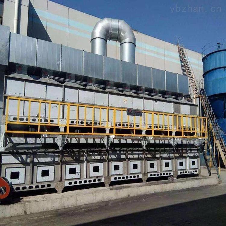 催化燃烧活性炭吸附脱附废气处理工艺特点