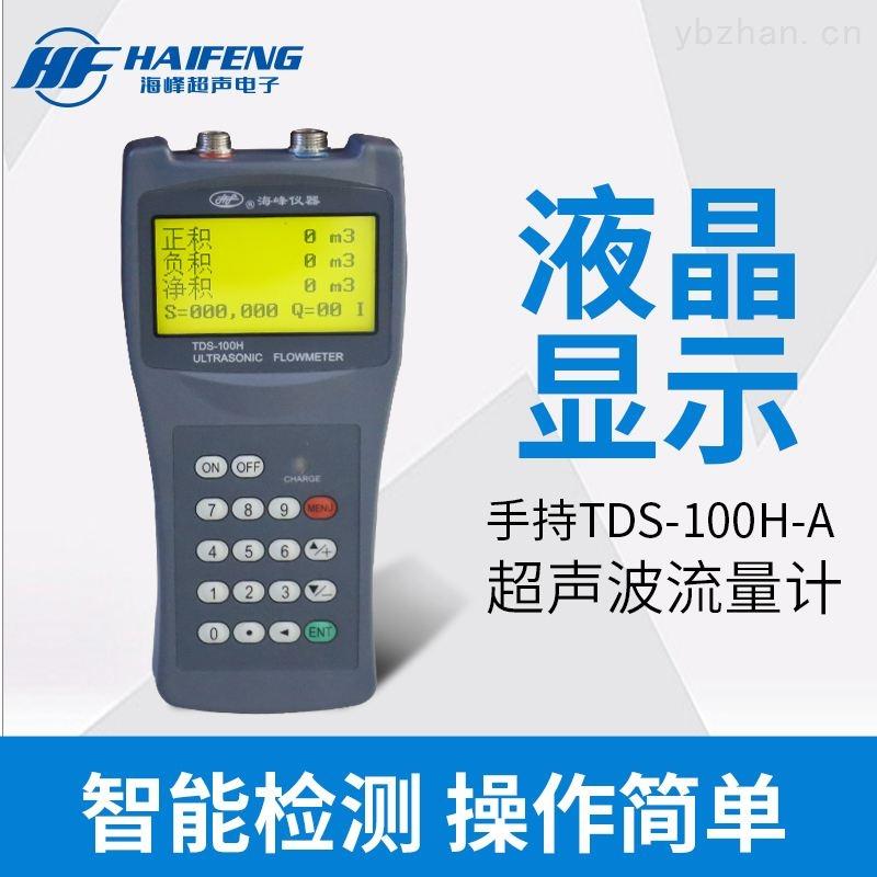 广西省手持式超声波流量计TDS-100H