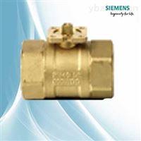 西门子电动球阀黄铜材质VAI61.50-25