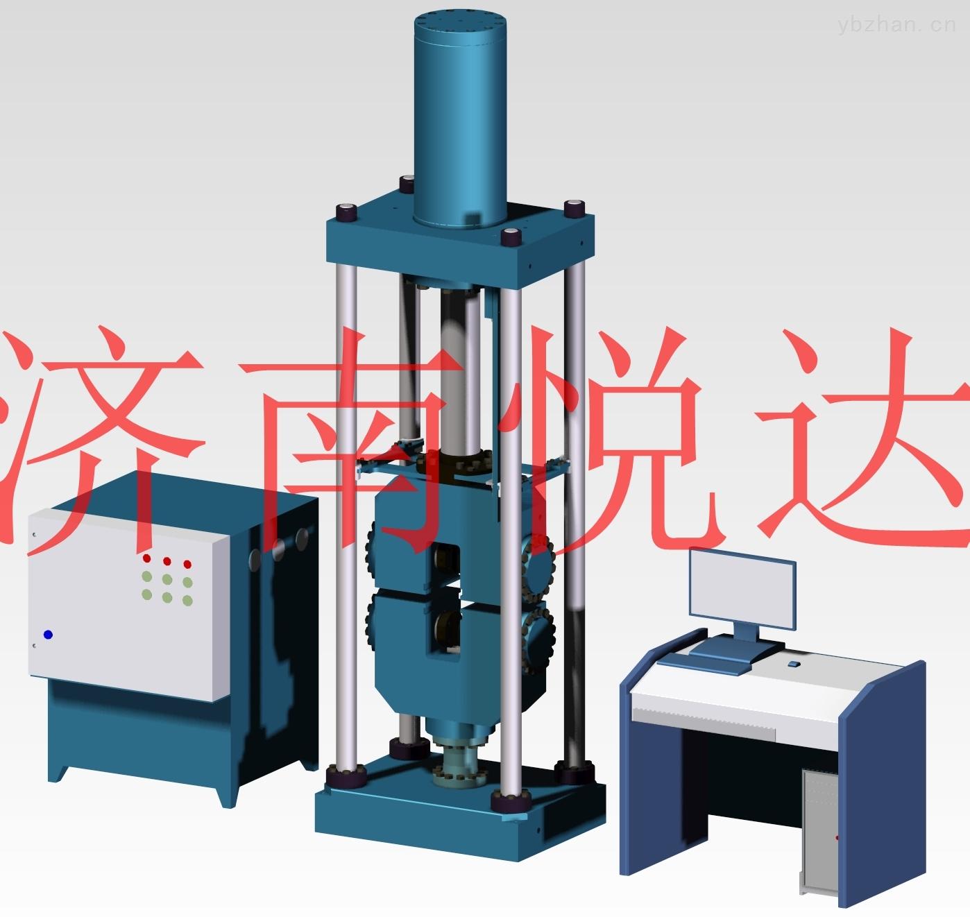 微机控制电液伺服万能试验机
