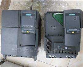 西门子MM440变频器显示一排横杠维修