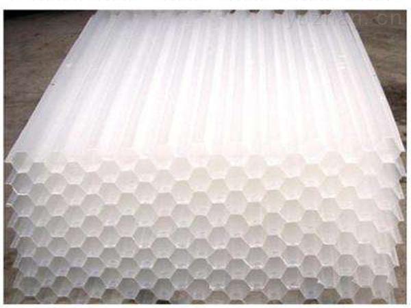 六角蜂窝斜管填料的用途  恒信达