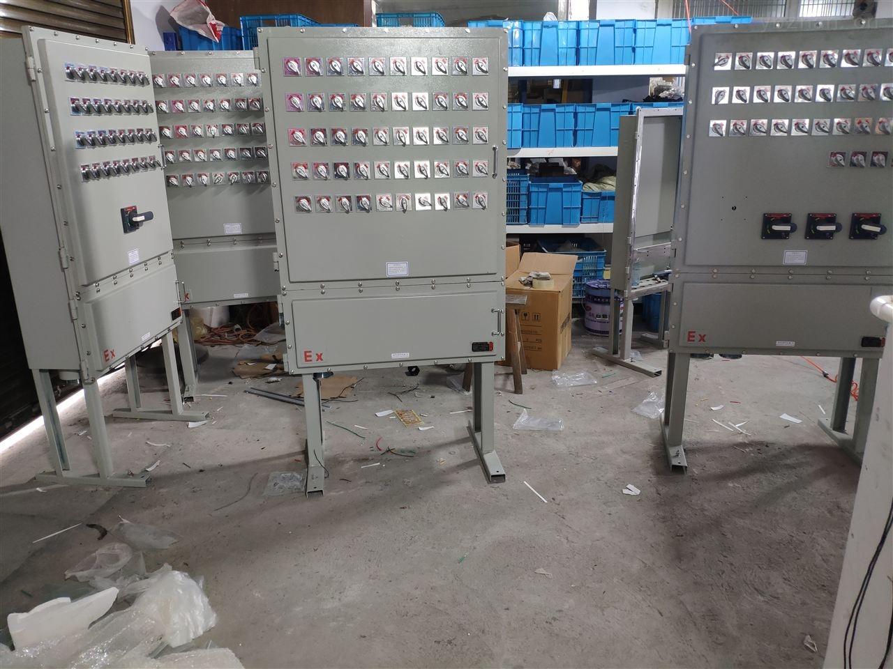 非标定做-导热油加热防爆比例调节仪控制柜