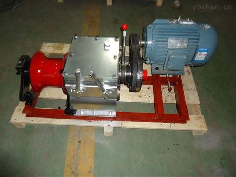 全新电动绞磨机-三级承装设备