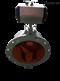 氣動圓頂閥