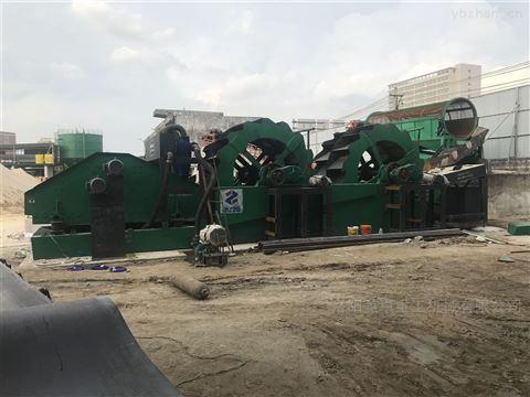 广东洗砂机多少钱  广州轮斗式洗砂设备报价