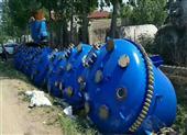 二手3000L不锈钢反应釜回收