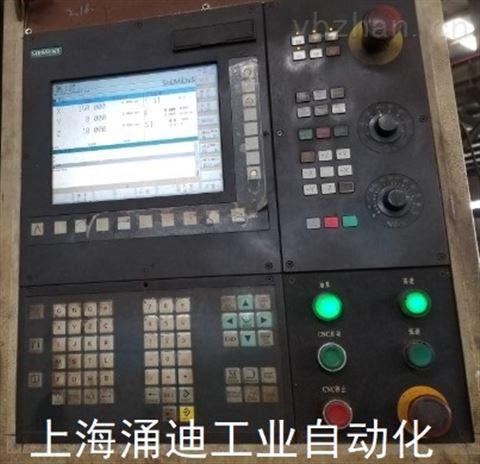 西门子数控系统840D开不了机黑屏维修