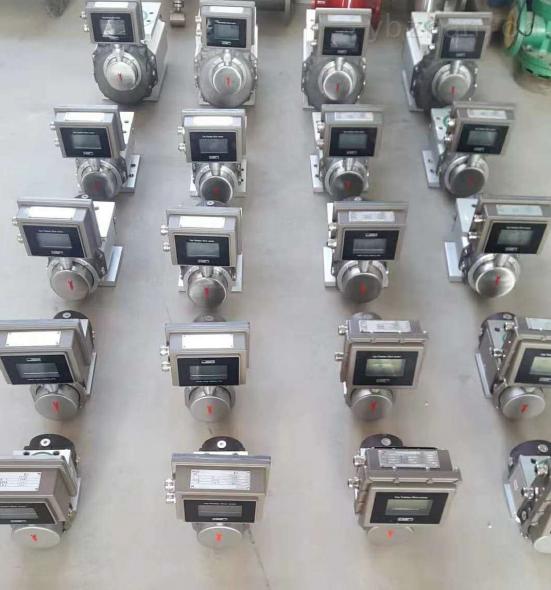 鋁合金DN40氣體腰輪流量計