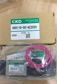 CKD4F系列单电控电磁阀