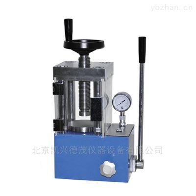 15手动粉末压片机可压制各种形状小型油压机