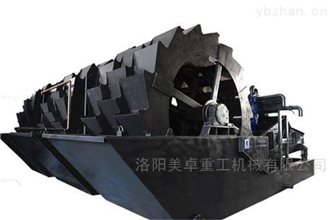 广东洗砂设备厂家  阳江新型河道砂洗砂机