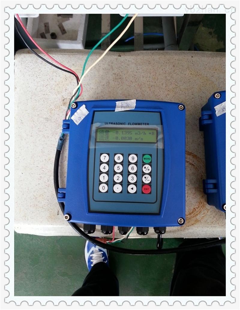 tuf-2000s-壁掛外夾式超聲波流量計對夾管夾式