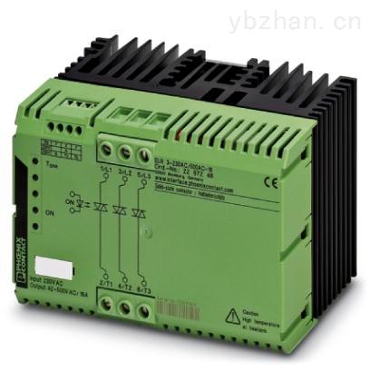 菲尼克斯三相接触器ELR 3-230AC/500AC-16 - 2297248