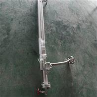 UHZ-58/CFPP16侧安装防爆304盐酸罐磁性液位计