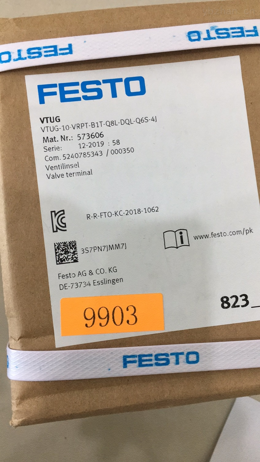 FESTO真空发生器订货方式